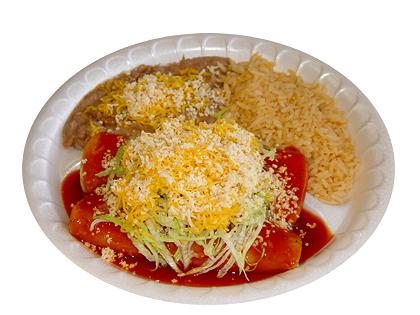 #3: Two Cheese Enchiladas