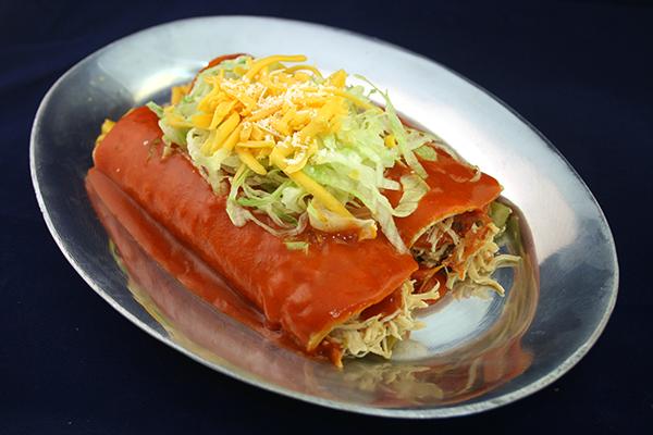 (2) Chicken Enchiladas