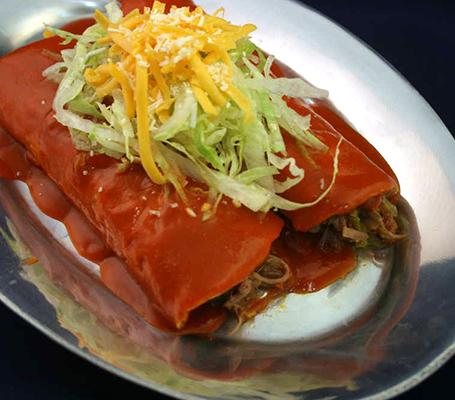 (2) Beef Enchiladas