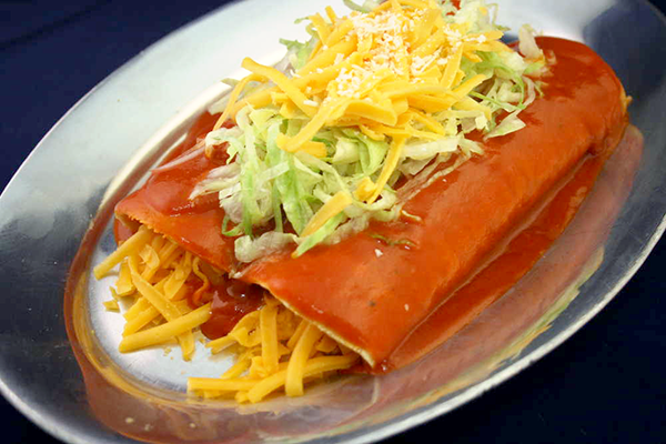(2) Cheese Enchiladas