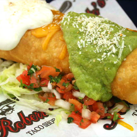 Beef Chimichanga