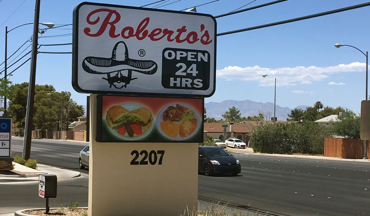Grand Opening: Roberto's Taco Shop at 2207 East Windmill Lane